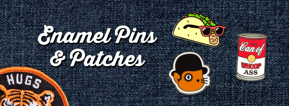 Enamel Pins & Patches