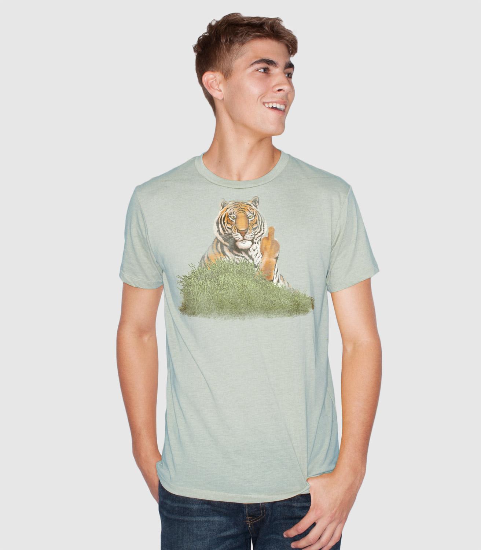 angry tiger t shirt headline shirts. Black Bedroom Furniture Sets. Home Design Ideas