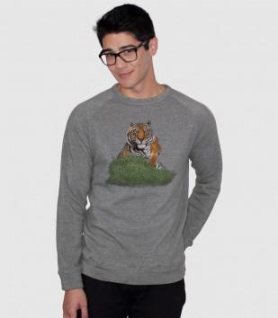 Angry Tiger Sweatshirt