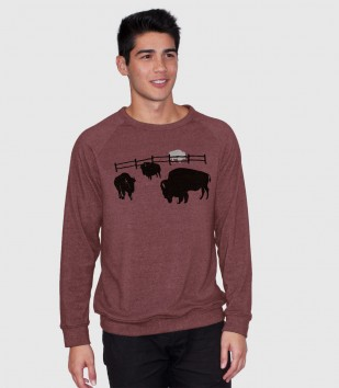 Great White Buffalo Sweatshirt