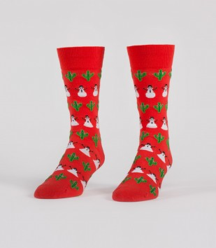 Snowmen & Cacti Socks