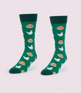 Chicken & Waffles Socks