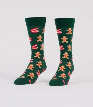 Gingerbread Nom Nom! Socks