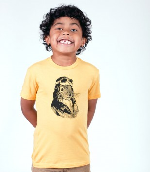 Flying Squirrel Kid's T-Shirt
