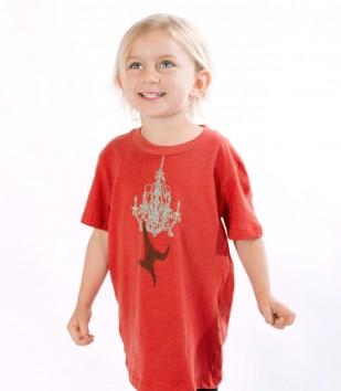 Monkey Chandelier Kid's T-Shirt