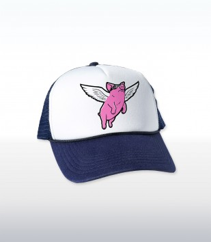 Flying Pig Cap