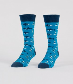 Sharks & Surfers Socks