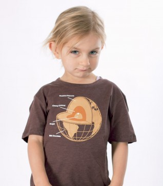 Chocolate Earth Kid's T-Shirt