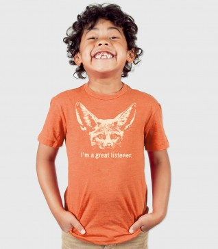 Great Listener Kid's T-Shirt