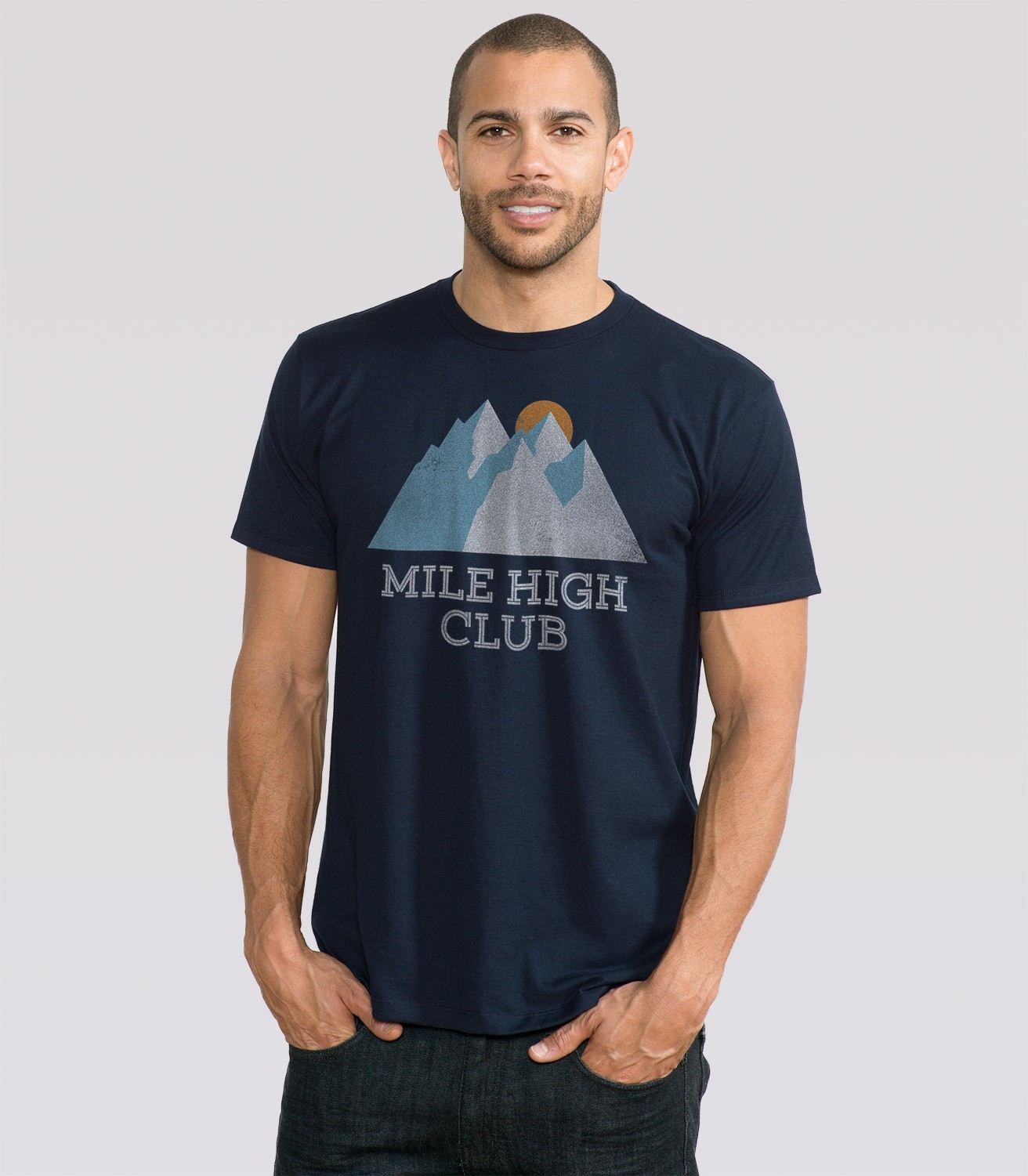 Mile High Club Men's T-Shirt