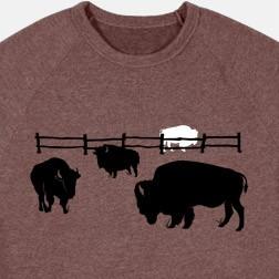 Great White Buffalo Sweatshirt