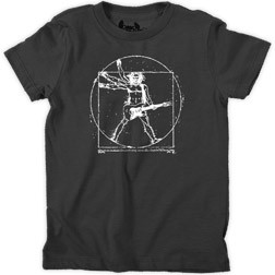 Da Vinci Rock Man Kid's T-Shirt