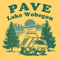 Pave Lake Wobegon