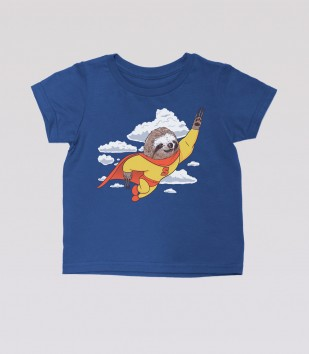 Super Sloth Kid's Tee