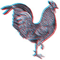 3D Cock