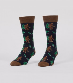 Bigfoot & Nessie Socks