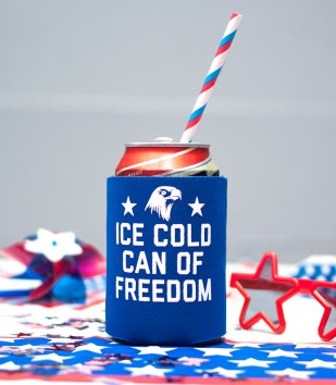 Freedom Can Koozie