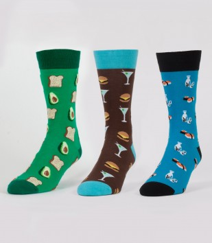 The Hangry Pack Socks 3-Pack