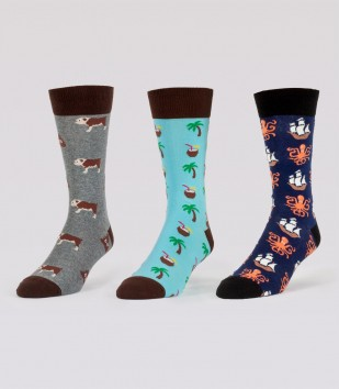 Just The Hits Sock 3-Pack (3 Pairs)