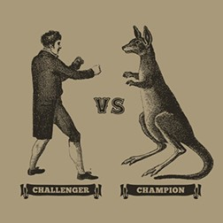 Kangaroo Fight Poster