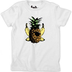 Pineapple Crossbones Kid's T-Shirt