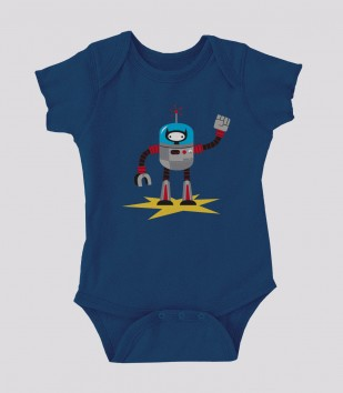 Ninja Kitty Robot Onesie