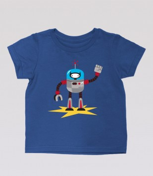 Ninja Kitty Robot Kid's Tee