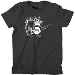 Squirrel Banjo Kid's T-Shirt
