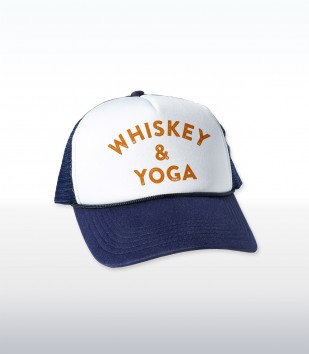 Whiskey & Yoga Cap