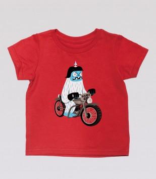Biker Yeti Kid's Tee