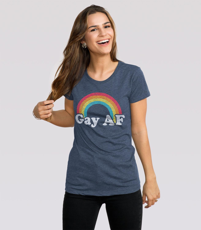 Gay women and tee shirts
