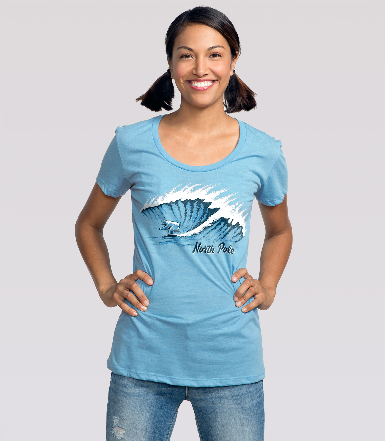 South pole clothing for women